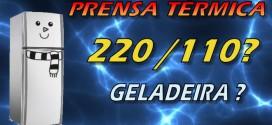 Prensa Térmica Para Sublimação 220v ou 110v ? O Que Olhar na Hora de Usar, Instalar ou Comprar.