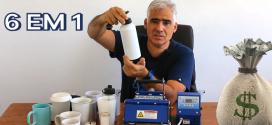 Video #018 – Maquina de Estampar Canecas Personalizadas 6 em 1 – O que é Possível com Elas ?