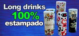 Copo Long Drink Personalizado 100% Estampado. Total. Via Transfer a Laser – Outro Nível – Passo a Passo