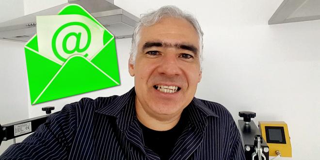 Video #021 – Opinião Pessoal Minha – Melhor E-mail para Sublimação