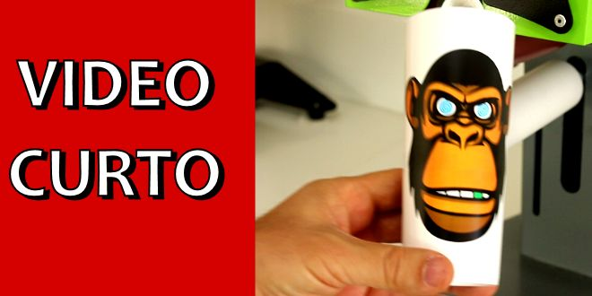 Video Curto #005 – Como Personalizar Copo Long Drink via Transfer a Laser