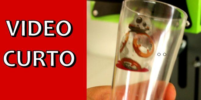 Video Curto #004 – Como Personalizar Copo de Chopp de Acrílico