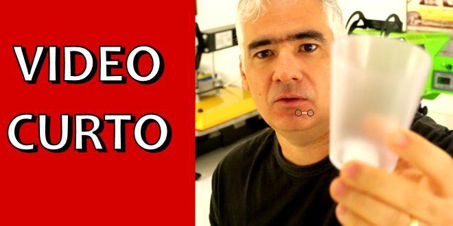 Vídeo Curto #001 – Como Personalizar Copos de Acrílico via Transfer a Laser