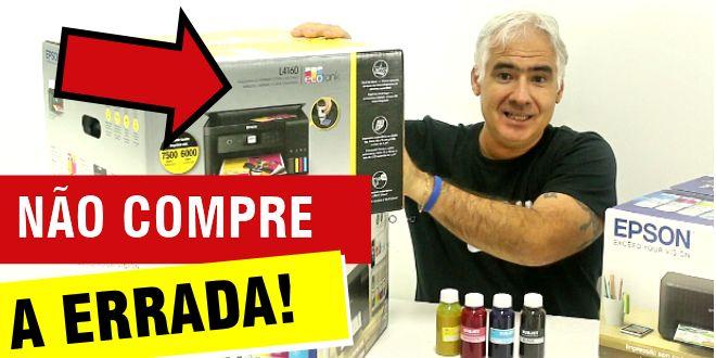 Video #043 – Como Escolher Impressora para Sublimação ( L3110, L3150 ou L4160 )