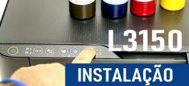 Video #046 – Impressora para Sublimação L3150 como Instalar Corretamente via USB, WiFi e Celular