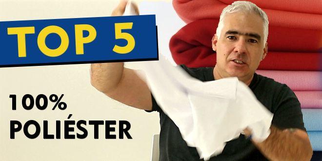 Video #052 – Cinco Tipos de Tecidos TOP de Poliéster para Sublimação
